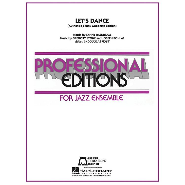Hal LeonardLet's Dance (Authentic Benny Goodman Edition) Jazz Band Level 5 by Benny Goodman Arranged by Douglas Rust