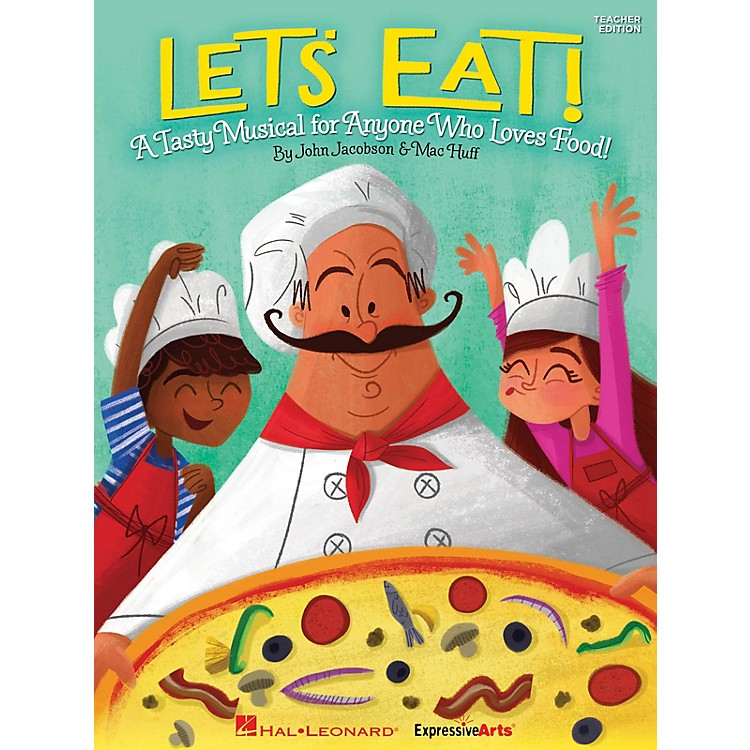 Hal LeonardLet's Eat! (A Tasty Musical for Anyone Who Loves Food!) Singer 5 Pak Composed by John Jacobson