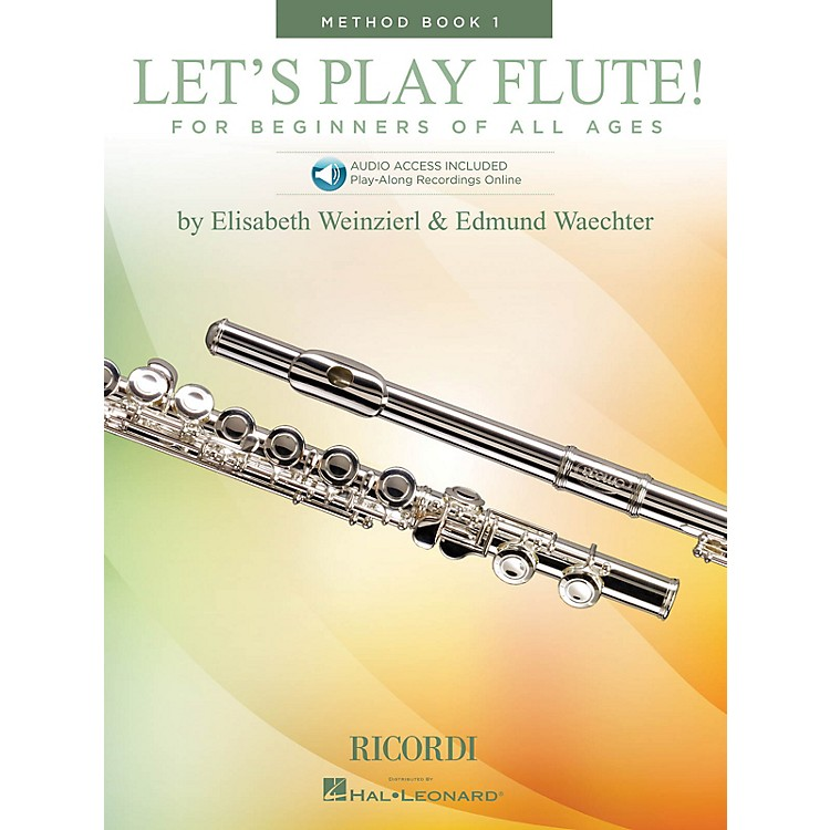 RicordiLet's Play Flute! - Method Book 1 (Book with Online Audio) Woodwind Method Series Softcover Audio Online