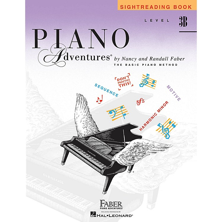 Faber Piano AdventuresLevel 3B - Sightreading Book Faber Piano Adventures® Series Book by Randall Faber