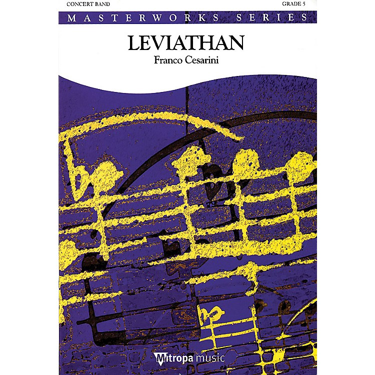 De Haske MusicLeviathan (Score and Parts) Concert Band Level 5 Arranged by Franco Cesarini
