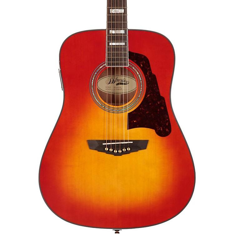 D'AngelicoLexington Dreadnought Acoustic-Electric GuitarCherry Sunburst