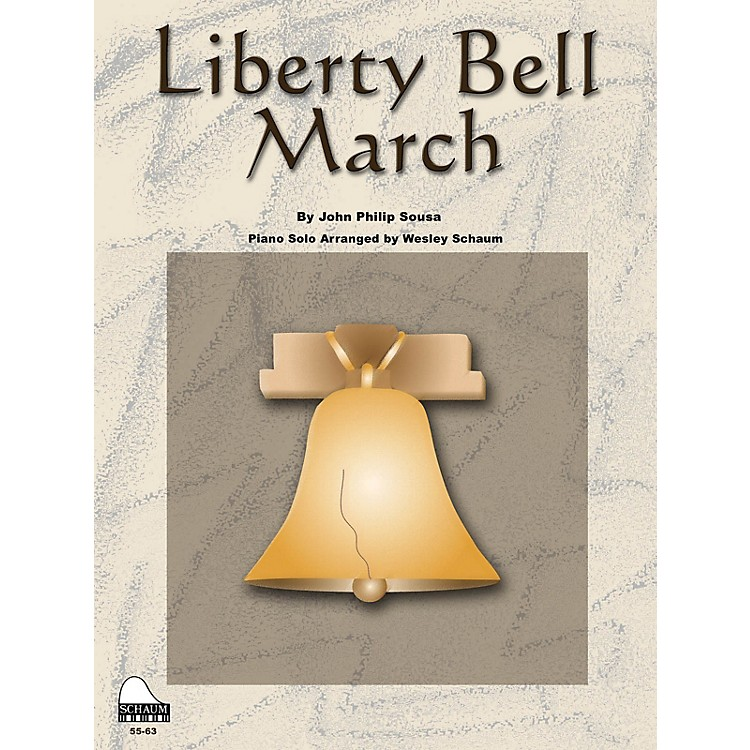 SCHAUMLiberty Bell March Educational Piano Series Softcover