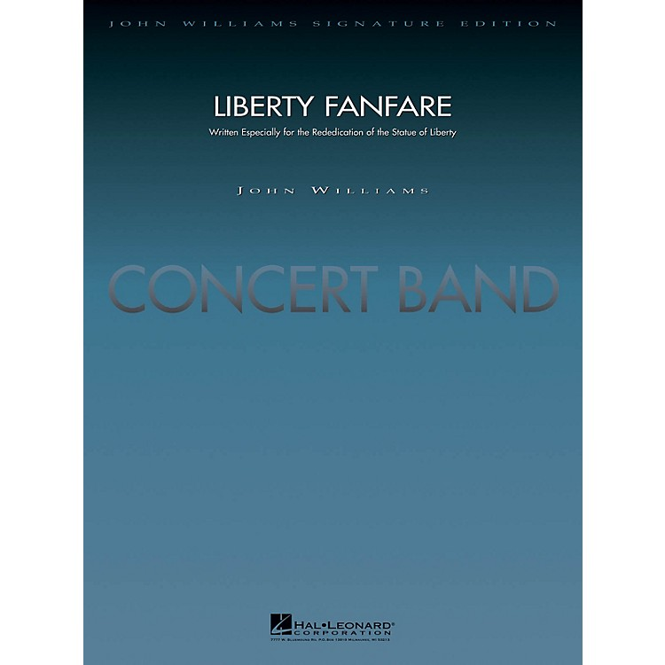 Hal LeonardLiberty Fanfare (Deluxe Score) Concert Band Level 5 Arranged by Jay Bocook