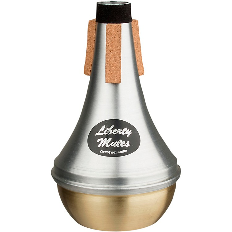 Protec Liberty Trumpet Straight Aluminum Mute With Brass End