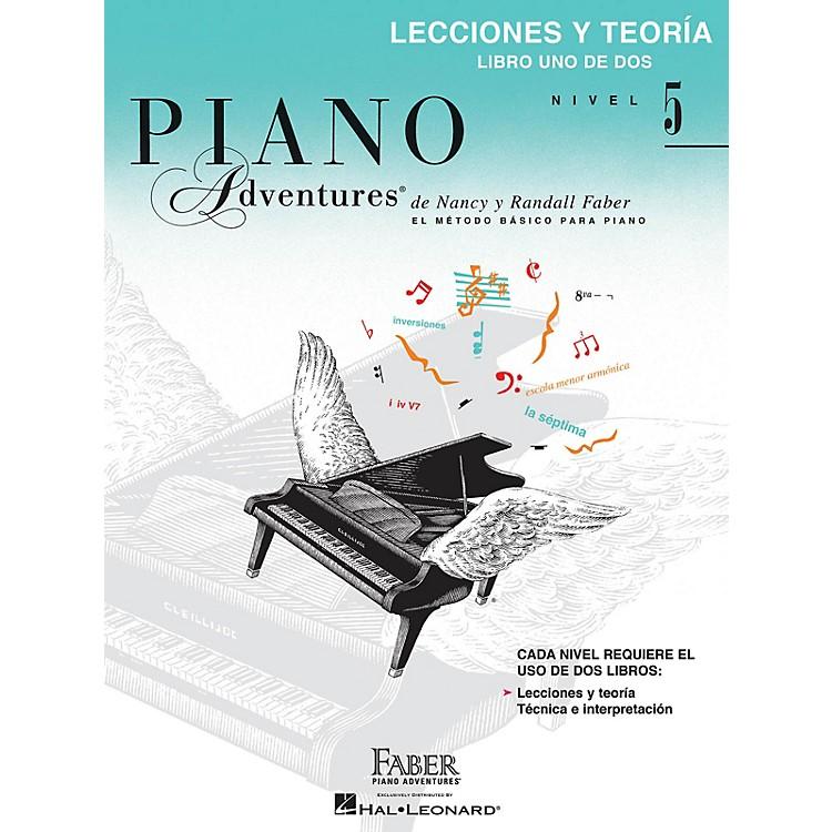Faber Piano AdventuresLibro de lecciones y teoría, Nivel 5 Faber Piano Adventures® Series Softcover Written by Randall Faber