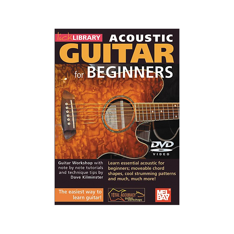 Mel BayLick Library Acoustic Guitar for Beginners DVD