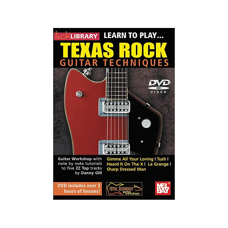 Mel BayLick Library: Learn to Play Texas Rock Techniques (DVD)