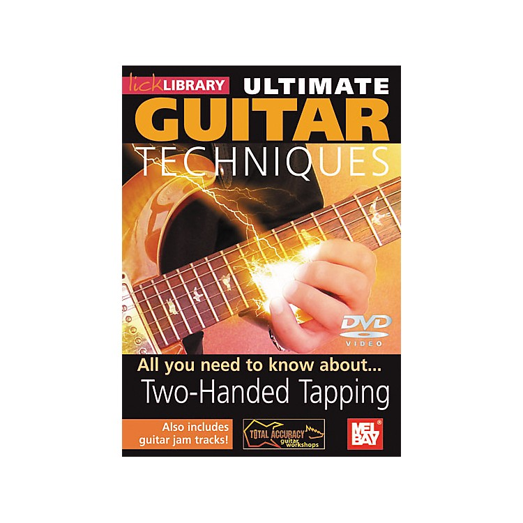 Mel BayLick Library Ultimate Guitar Techniques: Two-Handed Tapping DVD