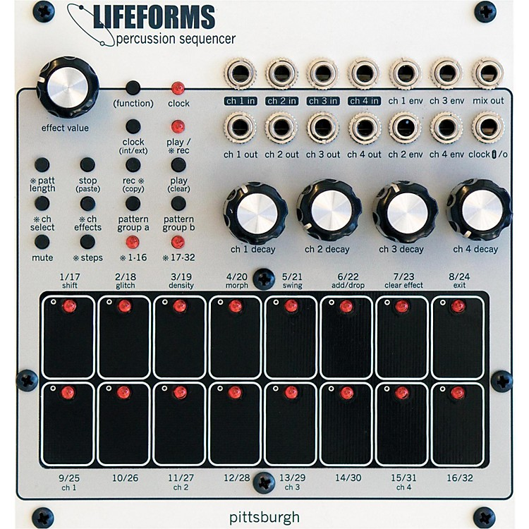 Pittsburgh Modular SynthesizersLifeforms Percussion Sequencer