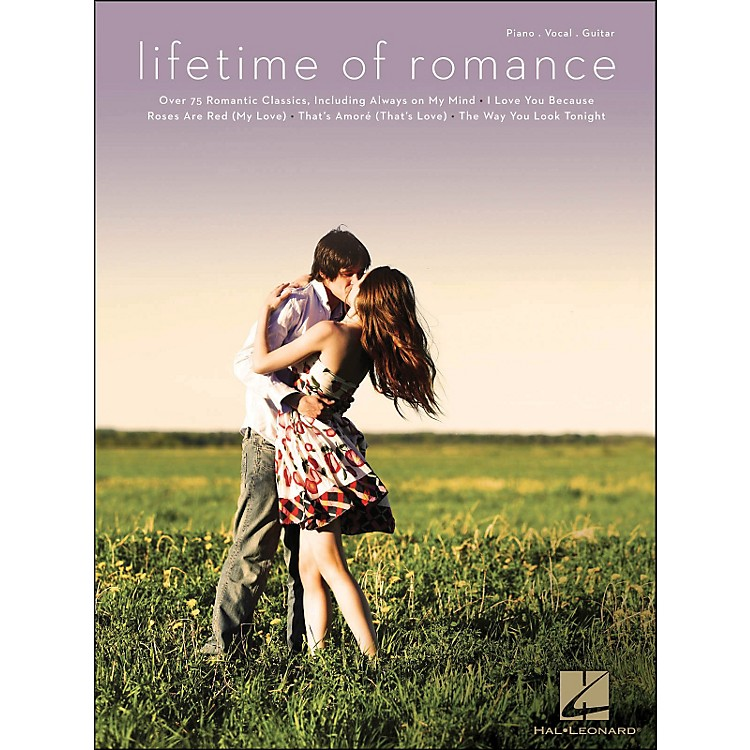 Hal Leonard Lifetime Of Romance arranged for piano, vocal, and guitar (P/V/G)
