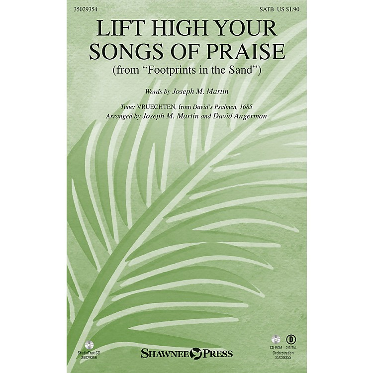 Shawnee Press Lift High Your Songs of Praise Studiotrax CD Composed by David Angerman