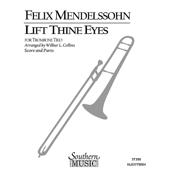 SouthernLift Thine Eyes (Trombone Trio) Southern Music Series Arranged by Wilbur Collins