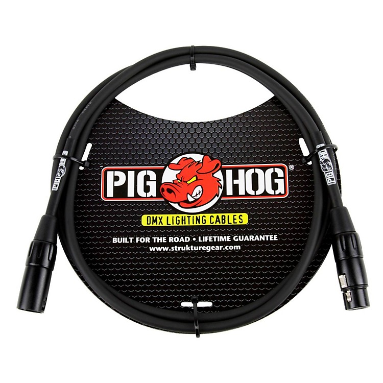 Pig HogLighting Cable DMX 3-pin5 ft.