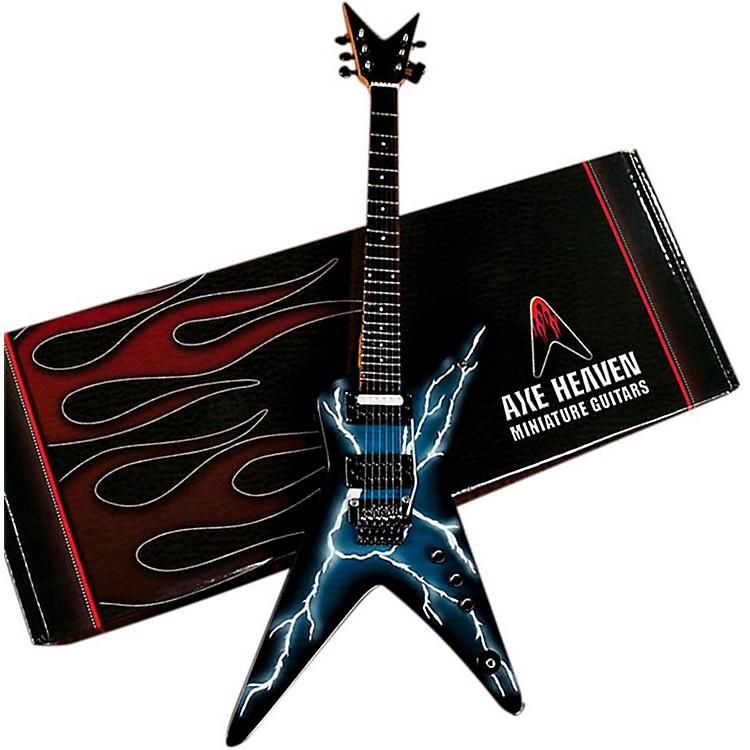 Axe HeavenLightning Bolt Signature Model Miniature Guitar Replica Collectible