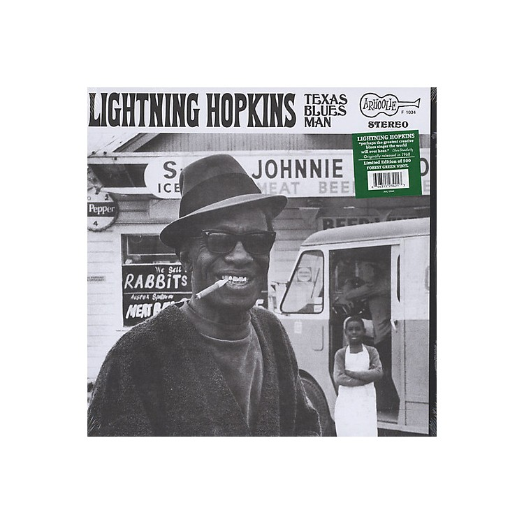 Alliance Lightning Hopkins - TEXAS BLUES MAN (LIMITED EDITION FOREST GREEN VINYL)