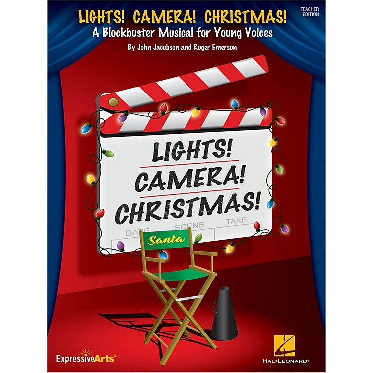 Hal Leonard Lights! Camera! Christmas! Singer Edition 5-Pak