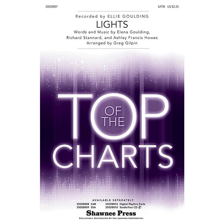Shawnee PressLights SATB by Ellie Goulding arranged by Greg Gilpin