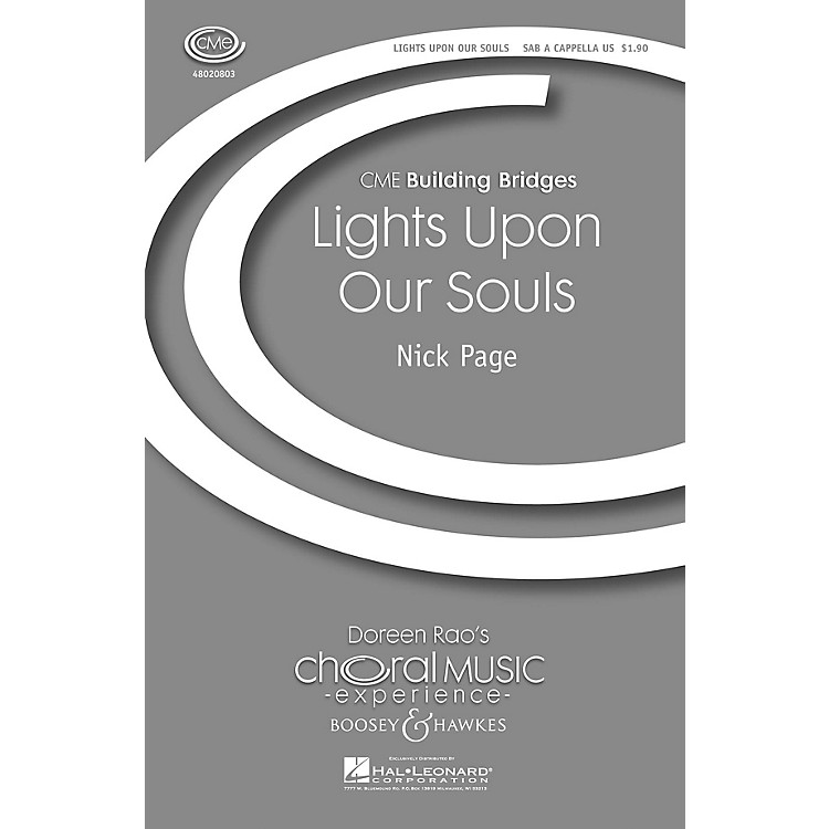 Boosey and HawkesLights upon Our Souls (CME Building Bridges) SAB A Cappella composed by Nick Page