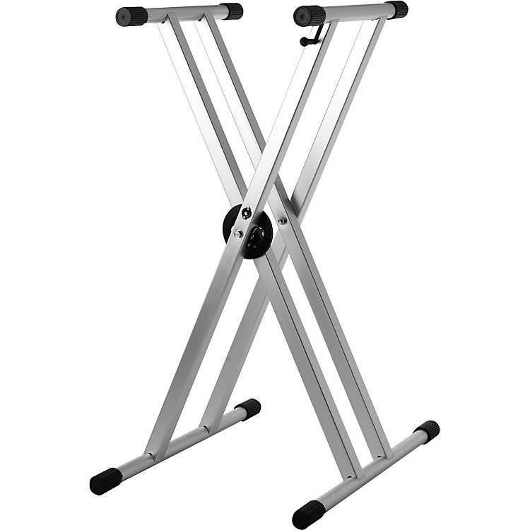 StruktureLightweight Aluminum Keyboard StandAnodized Silver