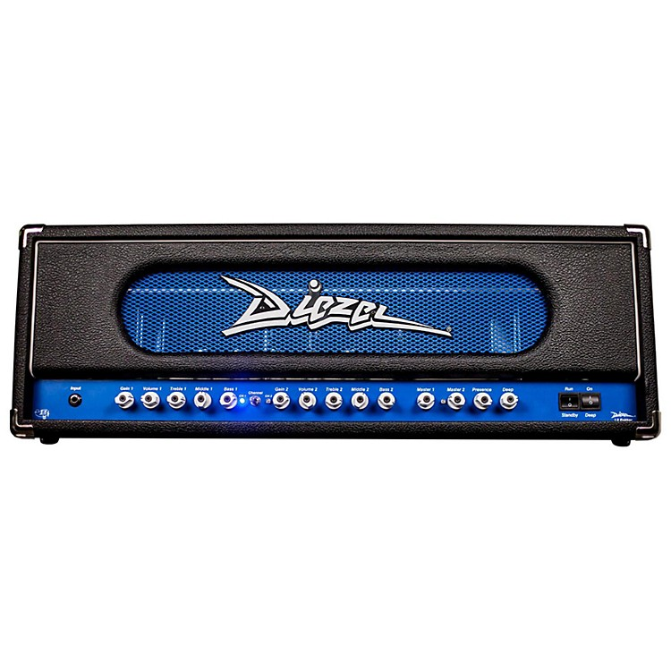 Diezel Lil Fokker 100W Tube Guitar Head Black