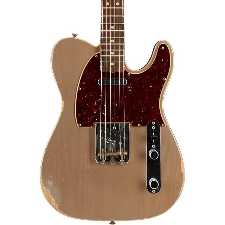 Fender Custom ShopLimited Edition '63 Telecaster Relic Electric GuitarShoreline Gold