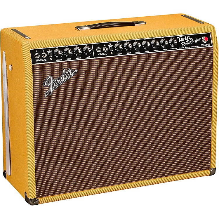 FenderLimited-Edition '65 Twin Reverb 85W 2x12 Tube Guitar Combo AmpLacquered Tweed