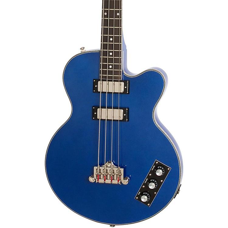 EpiphoneLimited Edition Allen Woody Rumblekat Blue Royale Bass GuitarChicago Pearl