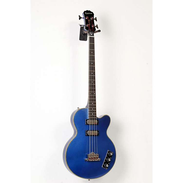 EpiphoneLimited Edition Allen Woody Rumblekat Blue Royale Bass GuitarChicago Pearl888365908663