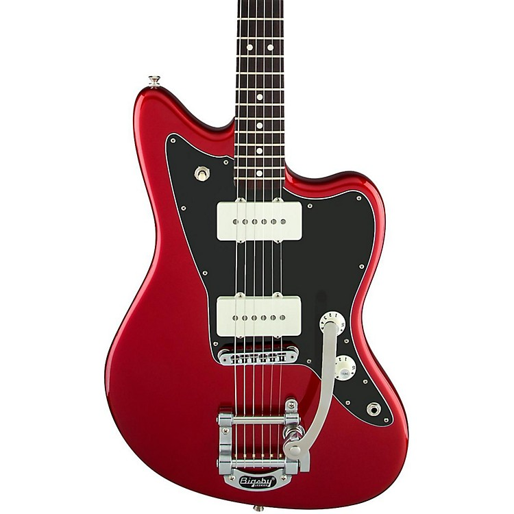 FenderLimited Edition American Special Jazzmaster with Bigsby Electric GuitarCandy Apple Red