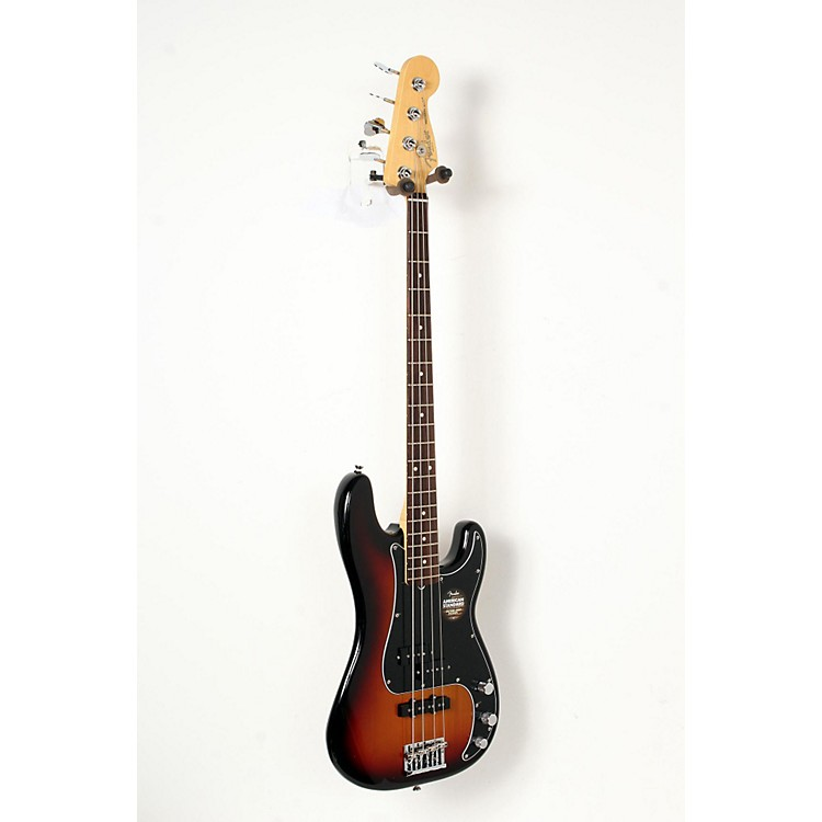 Fender Limited Edition American Standard Rosewood Fingerboard PJ Electric Bass 3-Color Sunburst 888365846057