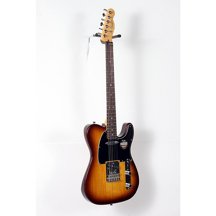Fender Limited Edition American Standard Telecaster Ash with Figured Neck Electric Guitar Cognac Burst 888365919621