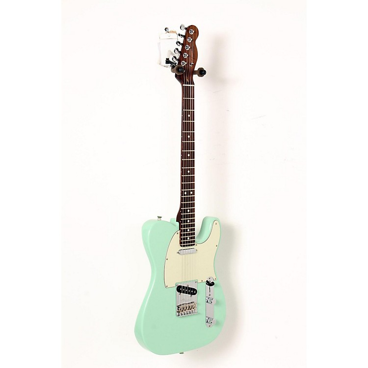 Fender Limited Edition American Standard Telecaster Rosewood Neck Electric Guitar Surf Green, Mint Green Pickguard 888365911458