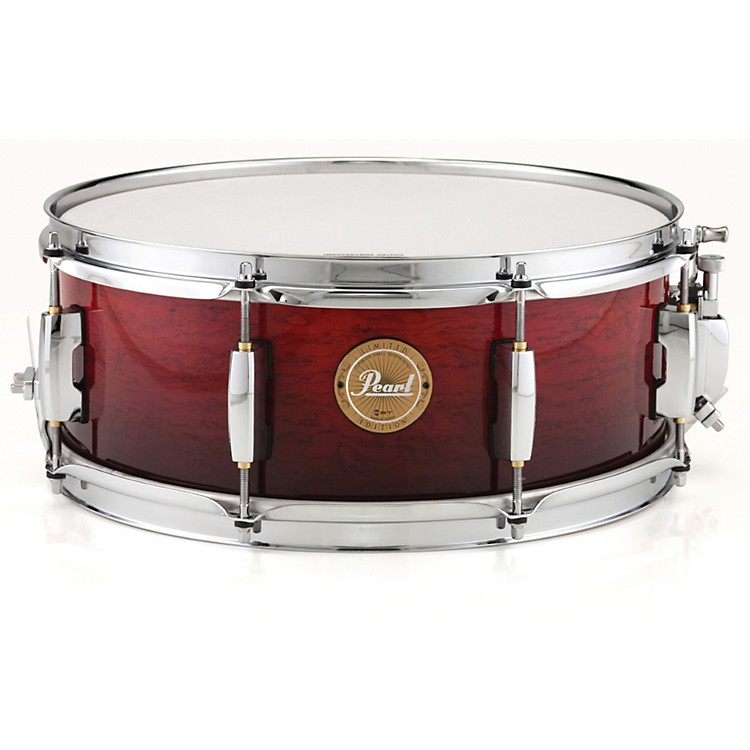 PearlLimited Edition Artisan II Lacquer Poplar/African Mahogany Snare Drum