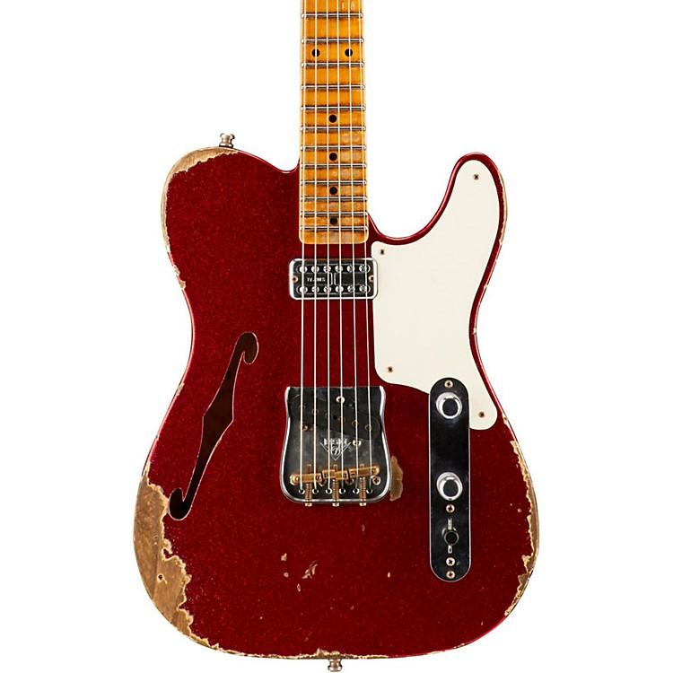 Fender Custom ShopLimited Edition Caballo Tono Ligero Heavy RelicRed Sparkle