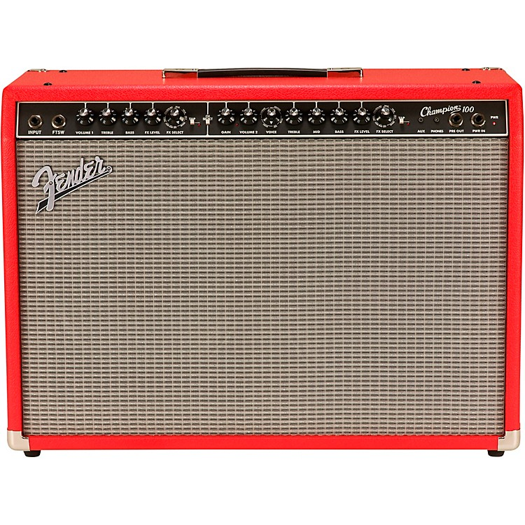 fender limited edition champion 100 100w 2x12 guitar combo amp music123. Black Bedroom Furniture Sets. Home Design Ideas