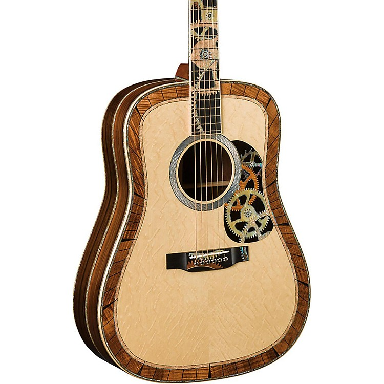 MartinLimited Edition D-200 Deluxe Acoustic GuitarNatural