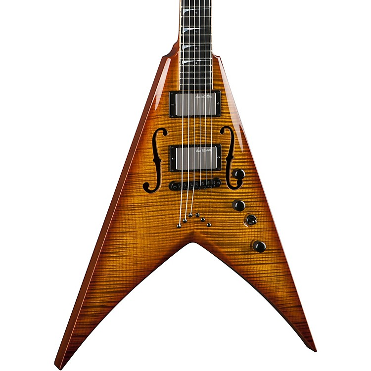 DeanLimited Edition Dave Mustaine StradiVMNT Electric GuitarVintage Burst
