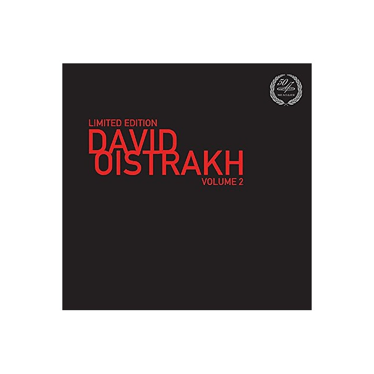 Alliance Limited Edition-David Oistrakh Vol. 2