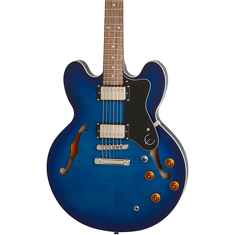 EpiphoneLimited-Edition Dot Deluxe Semi-Hollow Electric GuitarBlue Burst