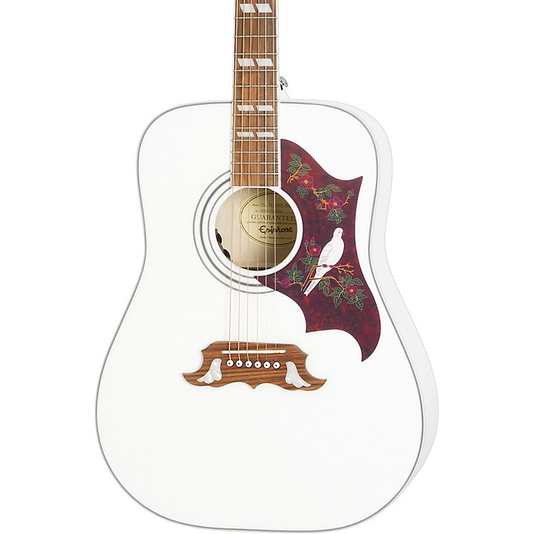EpiphoneLimited-Edition Dove PRO Acoustic-Electric GuitarAlpine White