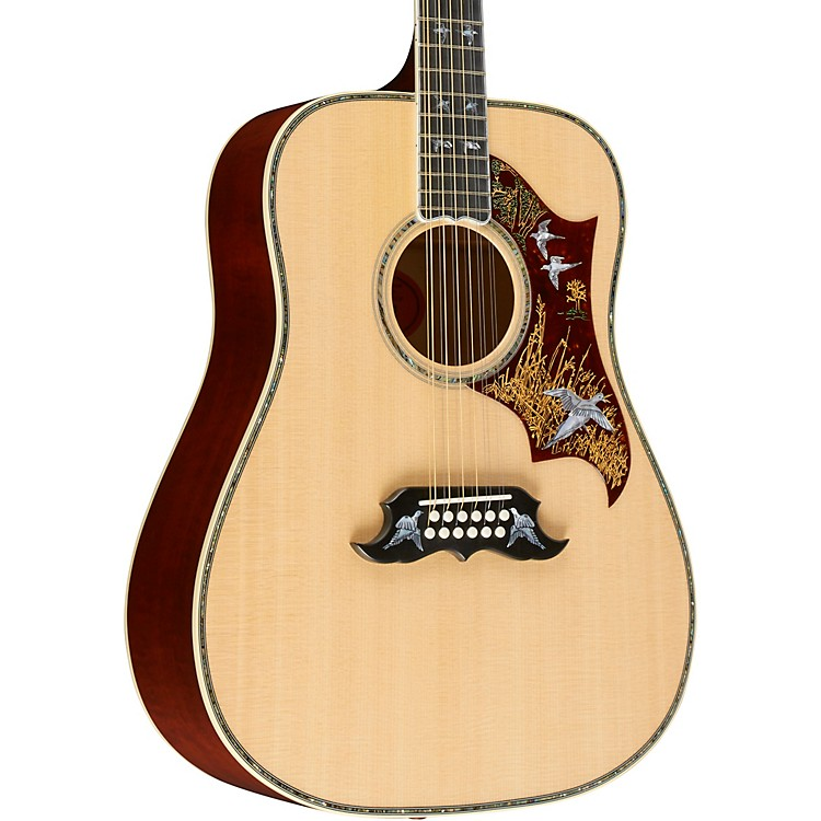 GibsonLimited Edition Doves in Flight 12-String Acoustic-Electric GuitarAntique Natural