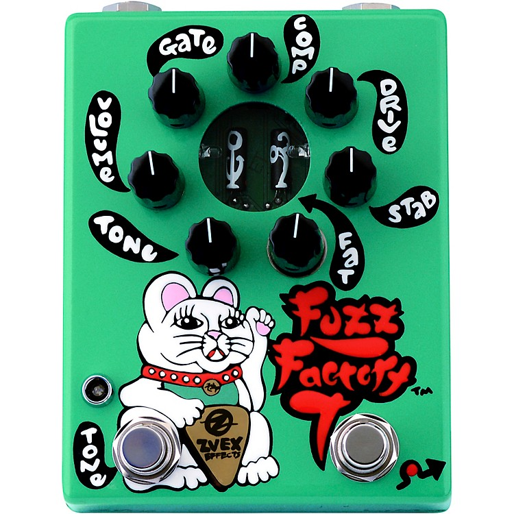 ZVexLimited-Edition Fuzz Factory 7 Hand-Painted Fuzz Effects Pedal