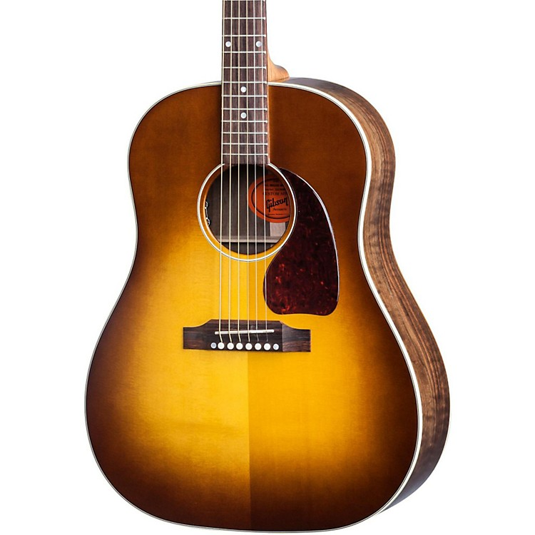 Gibson Limited Edition J-45 Tonewood Edition English Walnut Acoustic-Electric Guitar Natural