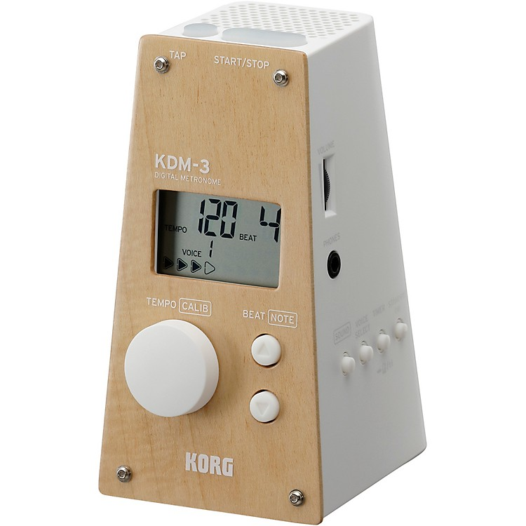 Korg Limited Edition KDM-3 Digital Metronome White