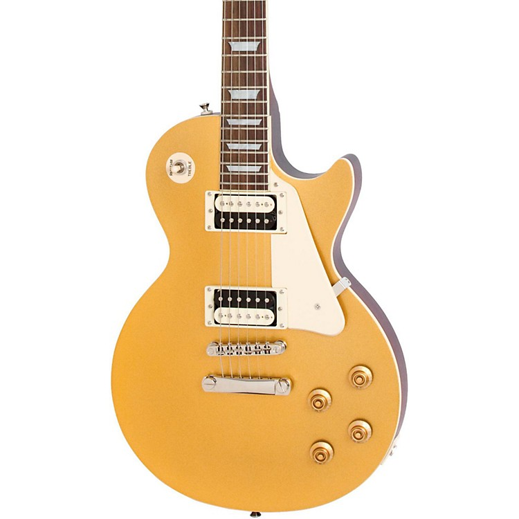 Epiphone Limited Edition Les Paul Traditional PRO Electric Guitar Metallic Gold