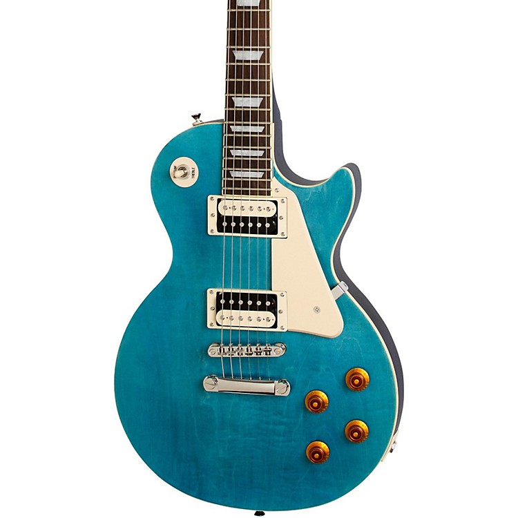 EpiphoneLimited Edition Les Paul Traditional PRO-II Electric GuitarOcean Blue Burst