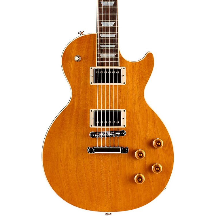 Gibson Limited Edition Mahogany Top Les Paul Standard Electric Guitar Natural