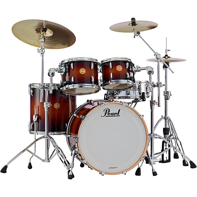 Pearl Limited Edition Masters Mahogany 4-Piece Shell Pack Brooklyn Burst