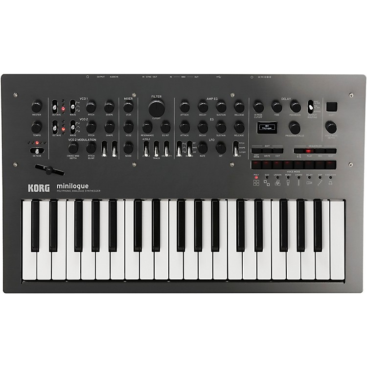Korg Limited Edition Minilogue Polished Gray